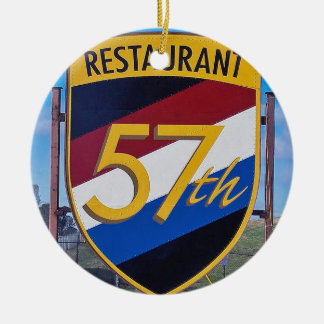 57th Fighter Club Atlanta, Christmas Ornament