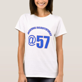 57TH year old designs T-Shirt