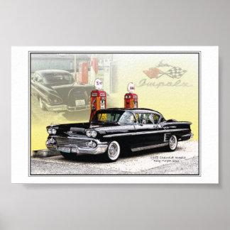 58 chevy Impala Poster