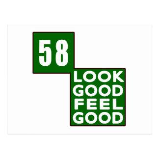 58 Look Good Feel Good Postcard
