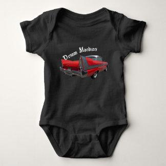 '58 Plymouth Fury Dream Machine Baby Bodysuit