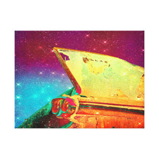 58 Space Fin Canvas Print