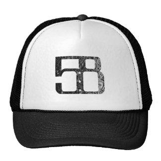 58 Three Star Logo Trucker Hat
