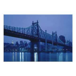 59th Street Bridge, New York, USA Poster