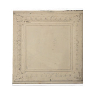 5.5' x 6' Notepad with Antique tin ceiling tile