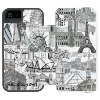 5/5s Mural Arch Search marries iPhone Incipio Watson™ iPhone 5 Wallet Case