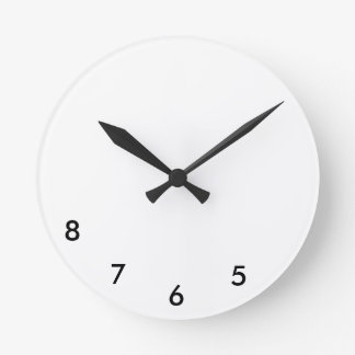 5, 6, 7, horloge murale 8 pour des danseurs