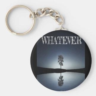 5.7 cm Basic Button Key Ring/whatever Keychain
