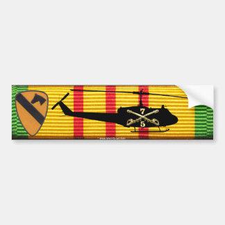 5/7th Cavalry, 1st Cav. Div, UH-1 Bumper Sticker