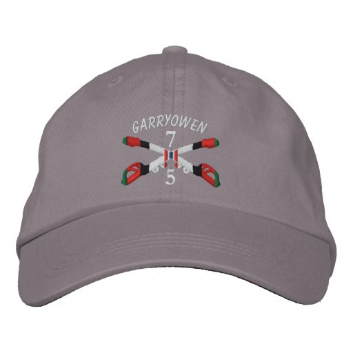 5-7th Cavalry Afghanistan Crossed Sabers Hat Embroidered Baseball Cap