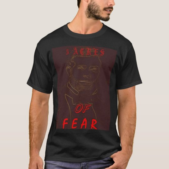 """5 Acres of Fear """"Broderick T"""" T-Shirt"""