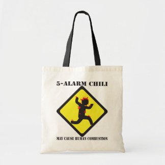 5 Alarm Chili Tote Bag