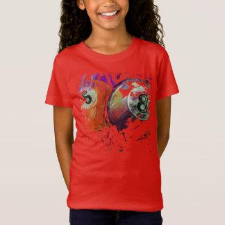 5 and 8 Billiard Balls abstract T-Shirt