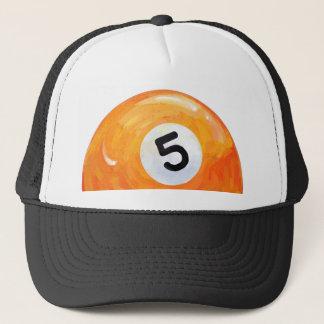 5 Ball Trucker Hat