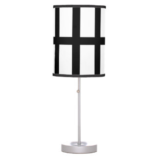 5 Bisected Black Lines Desk Lamp