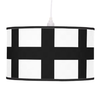 5 Bisected Black Lines Pendant Lamps