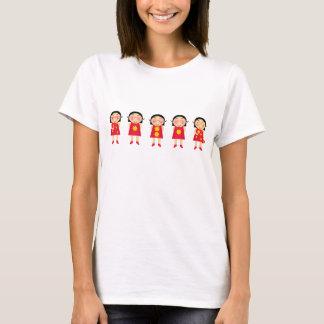 5 Cartoon Anns T-Shirt