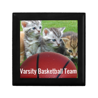 5 Cats Form a Basketball Team Gift Box