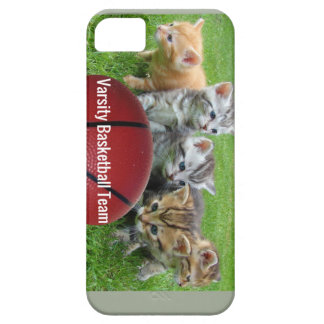 5 Cats Form a Basketball Team iPhone 5 Case