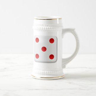 5 Dice Roll Coffee Mugs