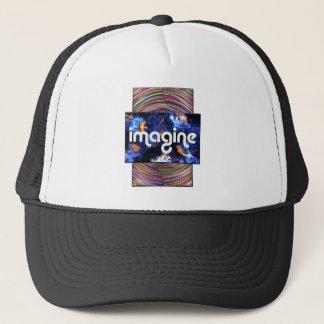 5 imagine trucker hat