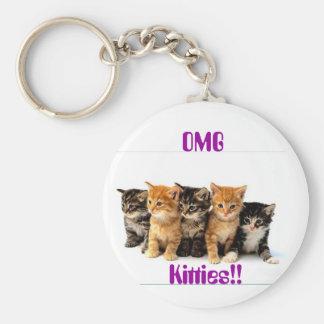5 Kittens Keychain