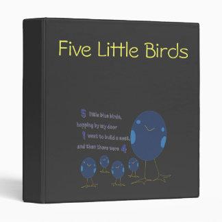 5 Little Birds bunder 3 Ring Binder