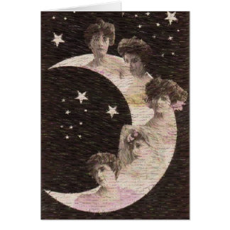 5 Maidens on the Moon Card