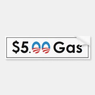 $5 Obama Gas Bumper Sticker
