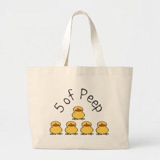 5 of Peep Jumbo Tote Bag