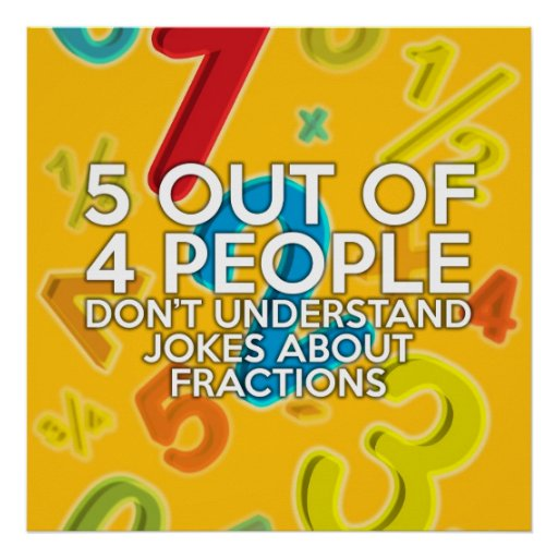 5 OUT OF 4 PEOPLE POSTER