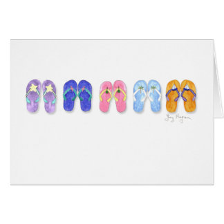 5 Pairs of Flip-Flops Cards