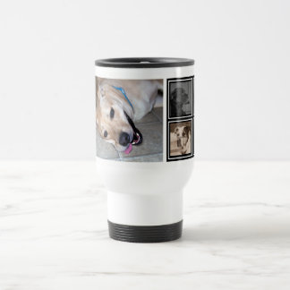 5 Photo Collage | Cute Instagram Pet Photo Travel Travel Mug