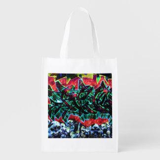 5 Pointz New York Graffiti Reusable Grocery Bag