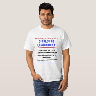 5 Rules for Engagement - Men's T-Shirt
