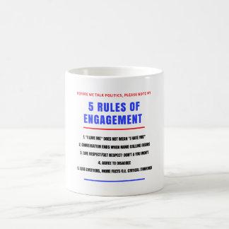 5 Rules of Engagement Mug