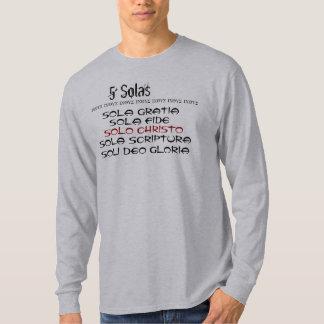 5 Solas v.3 T Shirts