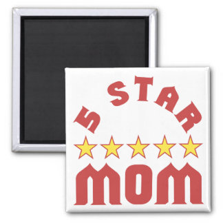 5 Star Mom Magnet