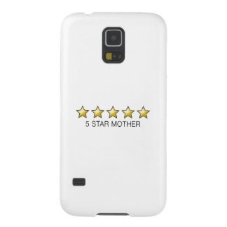 5 Star Mother Award - Mother's Day Gift Galaxy S5 Cases