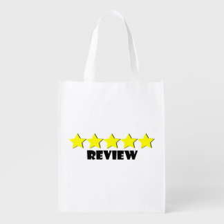 5 Star Review Reusable Bag