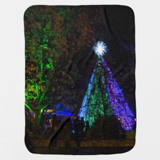 5 Story Sdc Tree Night Baby Blanket