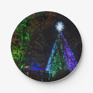 5 Story Sdc Tree Night Paper Plate