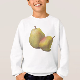 5 vintage pears illustrated sweatshirt