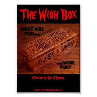"5""x7"" Poster - The Wish Box"