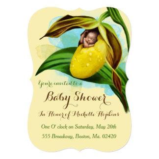 "5"" x 7"" Custom Baby Shower Invitation"