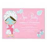 5 x 7 Spa Party | Party Invite