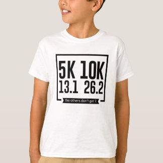 5K 10K 13.1 25.2 Runners Running Marathon Race T-Shirt
