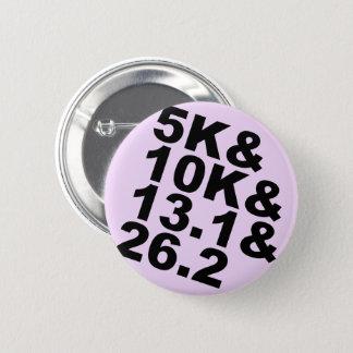 5K&10K&13.1&26.2 (blk) 2 Inch Round Button