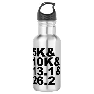5K&10K&13.1&26.2 (blk) 532 Ml Water Bottle