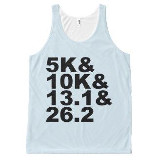 5K&10K&13.1&26.2 (blk) All-Over-Print Tank Top